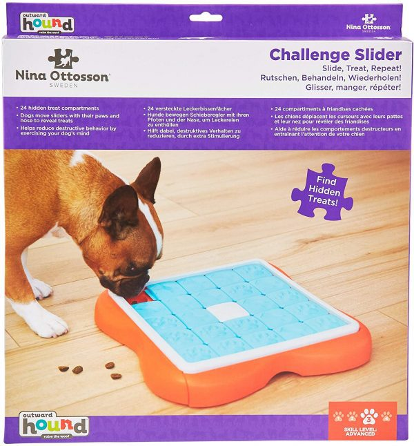 Challenge Puzzle Slider Toy for Dogs