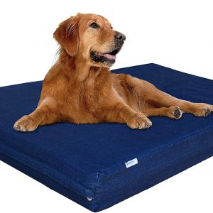 Dogbed4less Premium Memory Foam Dog Bed