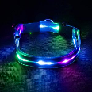 Waterproof LED Safety Dog Collar