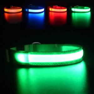 MASBRILL Rechargeable LED Dog Collar