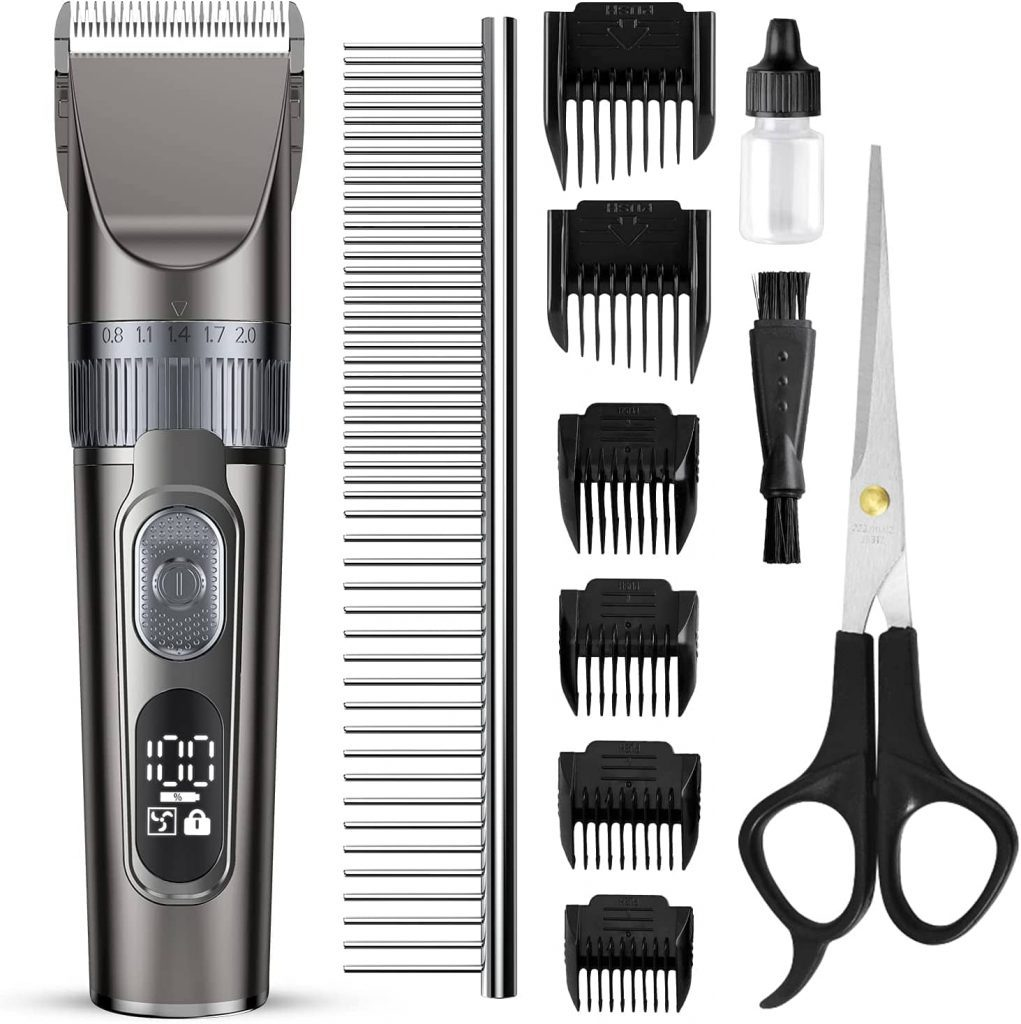 Domipet Professional Rechargeable Dog Grooming Kit