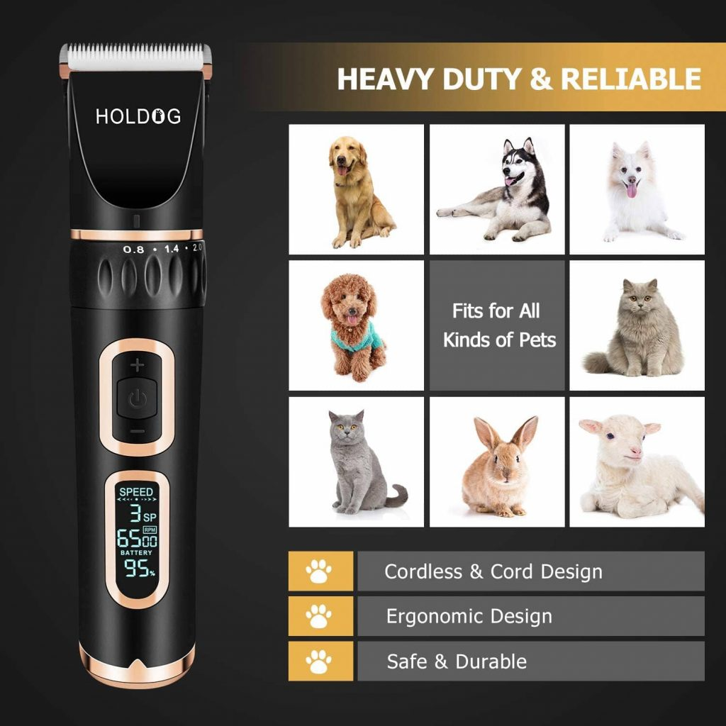 Holdog Cordless Dog Clippers